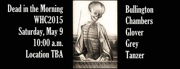 Readings by Jesse Bullington, Selena Chambers, J. T. Glover, Orrin Grey, and Molly Tanzer.